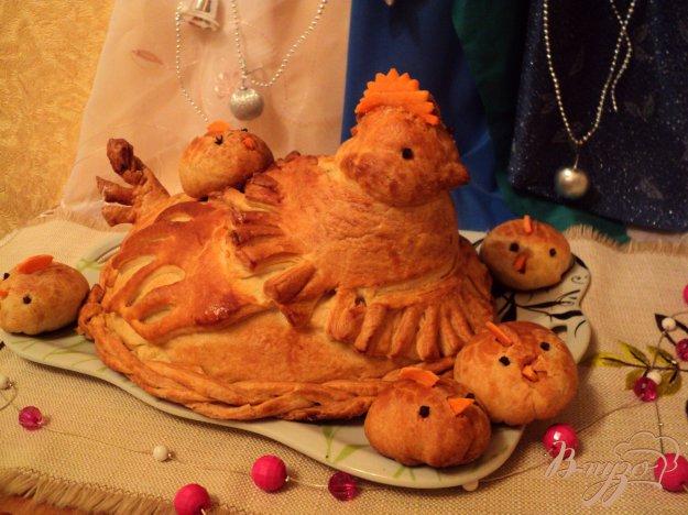 Рецепт Курник многослойный пирог