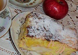 Рецепт Пирог « Яблоки в перине».