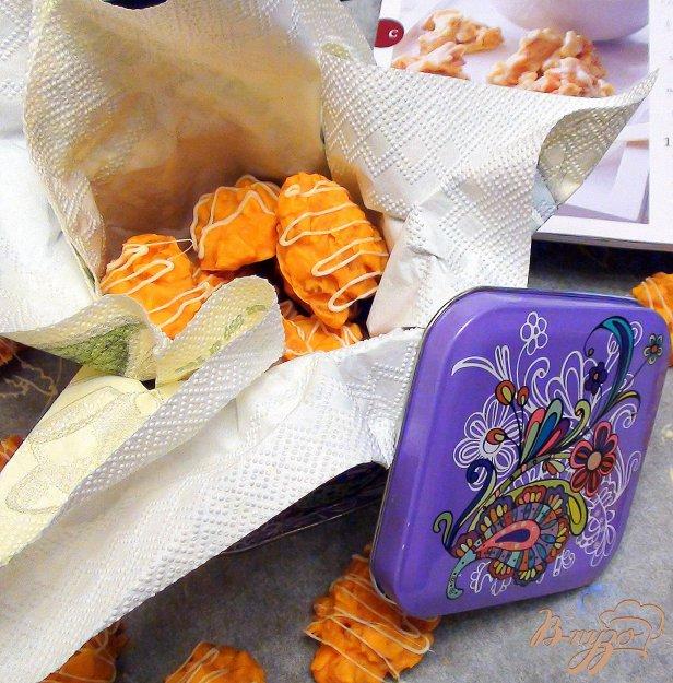 Рецепт Домашние конфетки из шоколада со вкусом апельсина. Вкусный, съедобный подарок!