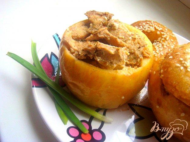 фото рецепта: куРАйские яблочки! (не десерт)
