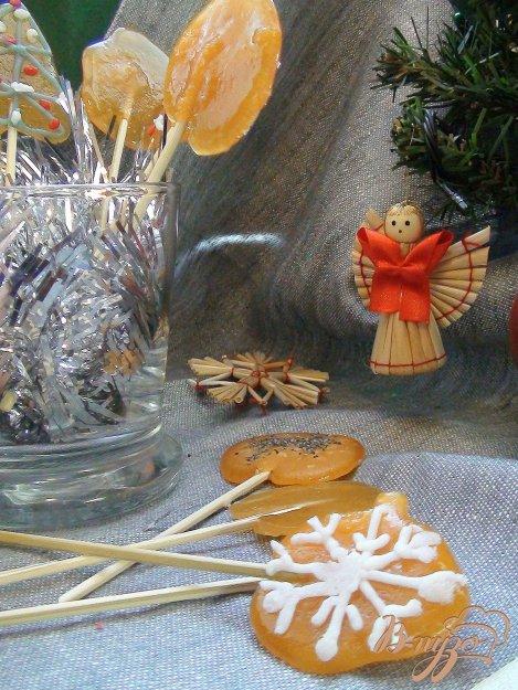 Рецепт Леденцы на палочке. Готовим для детского праздника.