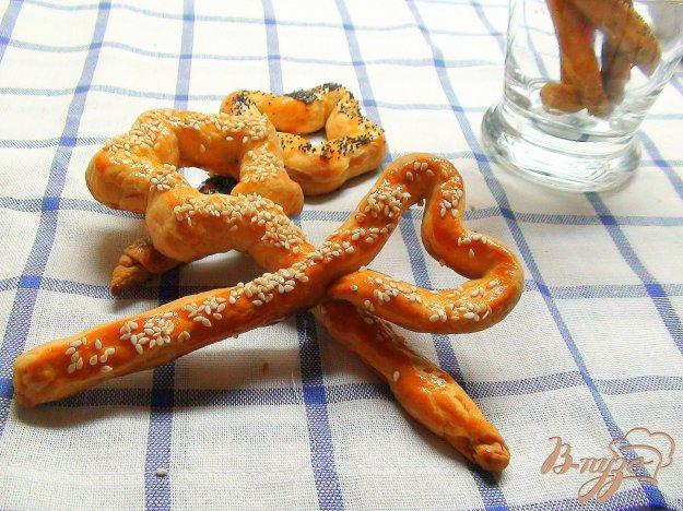 Рецепт Сметанные «волшебные» палочки! Печенье для детского праздника.