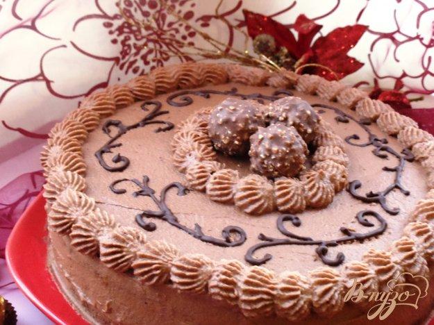 Рецепт Шоколадно-вишневый торт