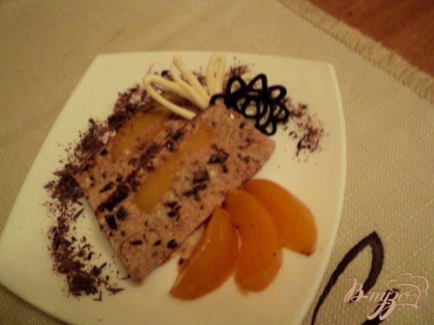 Рецепт Шоколадно-миндальный семифредо.
