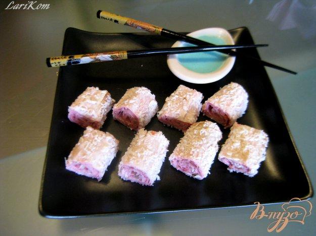 фото рецепта: Клубничные роллы