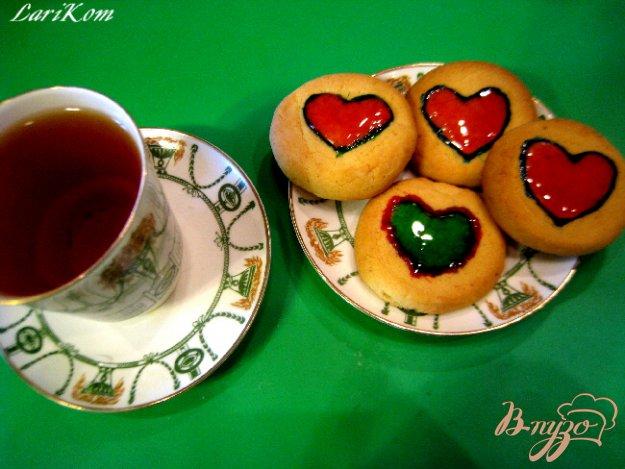 Рецепт Ароматное печенье с мармеладом