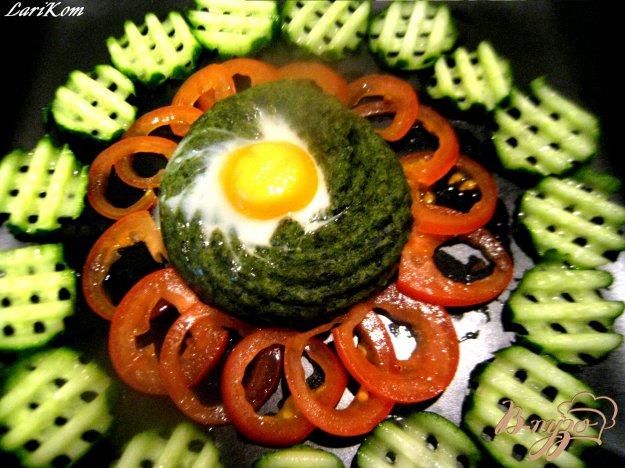"""Рецепт Запеченное картофельное пюре """"Зеленые лукошки"""""""