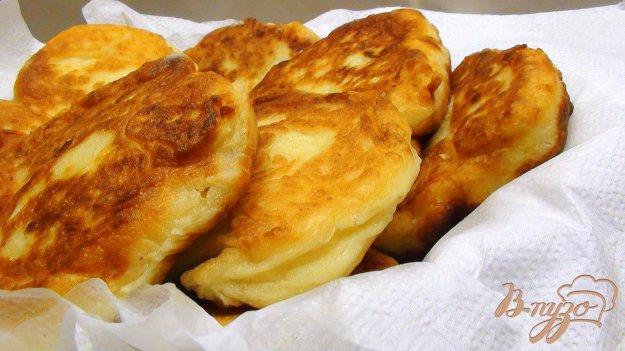 Рецепт Картофельно-творожные пончики.