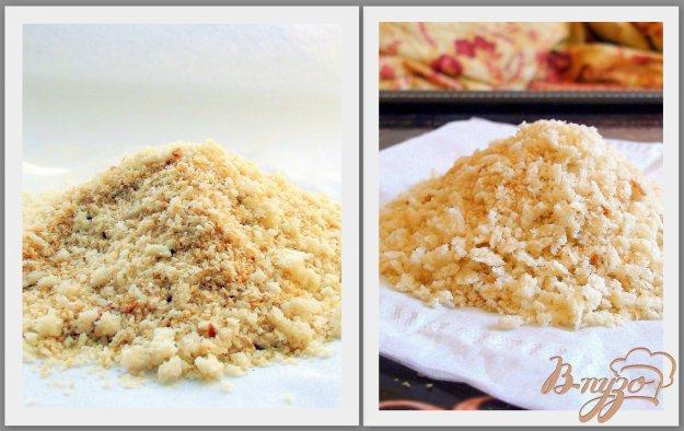 Рецепт Домашние панировочные сухари, простые или ароматные.
