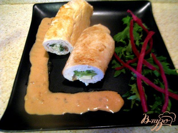 Рецепт Куриные грудки, фаршированные брокколи и сыром