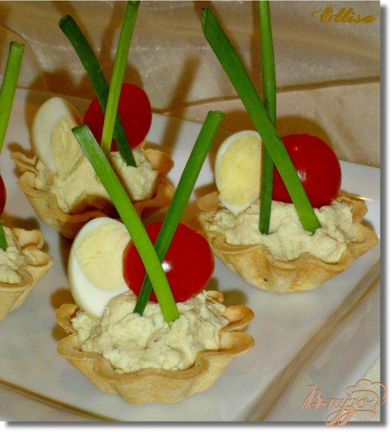 Рецепт Тарталетки с куриным муссом