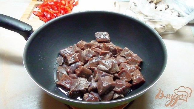 говяжья печень рецепты на сковороде с фото