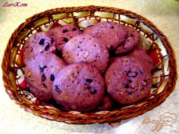 Рецепт Печенье с черной смородиной