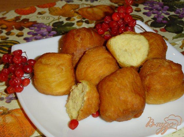 Рецепт Тыквенно-творожные пончики