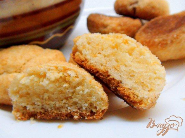 Рецепт Рассыпчатое печенье в сахарно-коричной панировке. Очень простой и очень вкусный рецепт