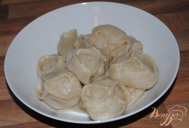 Рецепт Манты с рубленным мясом и цукини