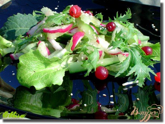 фото рецепта: Легкий салат «Весенняя свежесть»