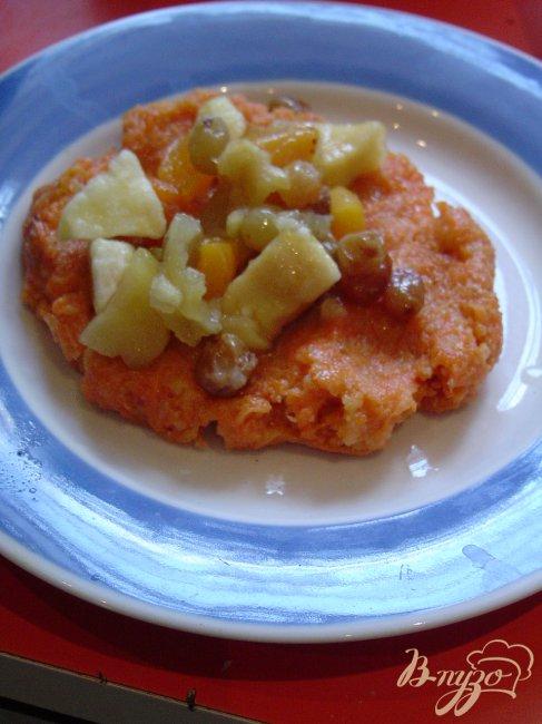 морковные котлеты с яблоком и манкой рецепт