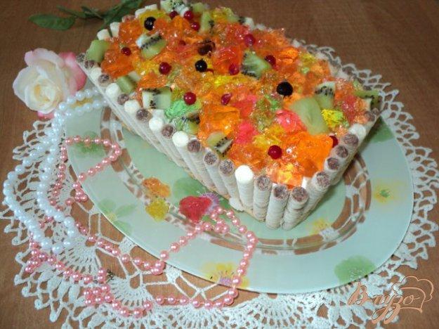 фото рецепта: Торт «Шкатулка с сокровищами»