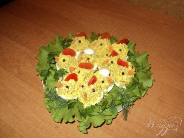 Рецепт Аппетитная закуска «Цыплята»