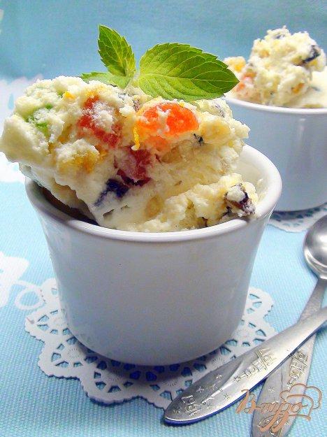 фото рецепта: Сицилийская кассата, замороженный десерт.