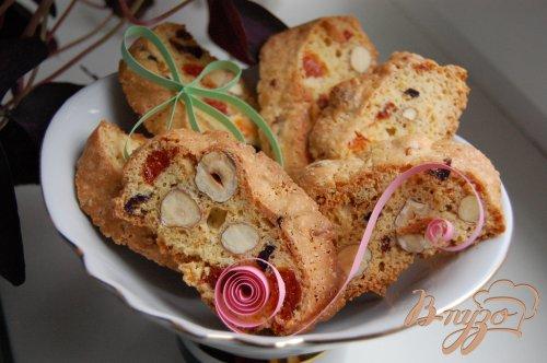 Бискотти с орехами и сухофруктами
