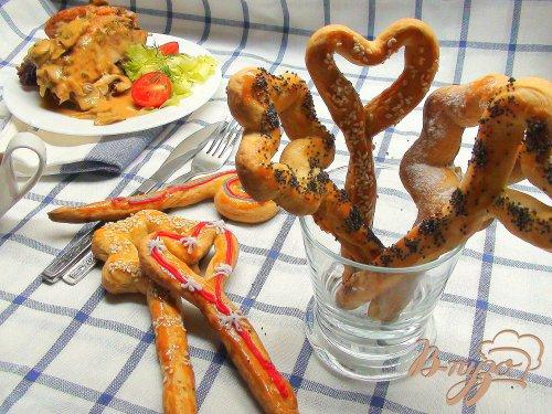 Сметанные «волшебные» палочки! Печенье для детского праздника.