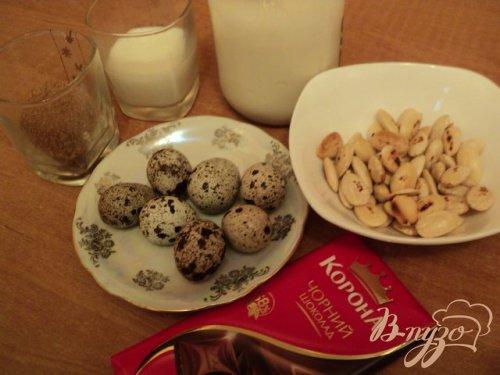 Шоколадно-миндальный семифредо.