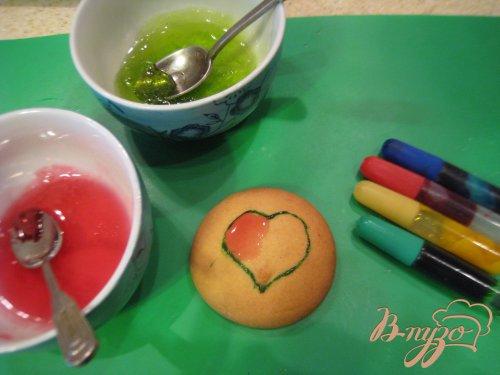 Ароматное печенье с мармеладом