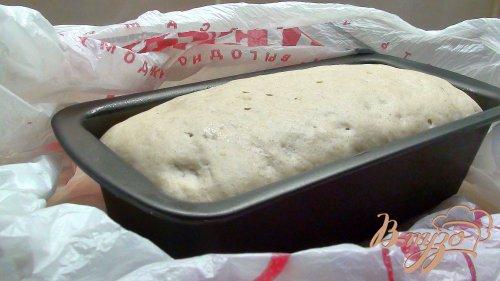 Пресный тосканский хлеб. (Серый, формованный на закваске.)