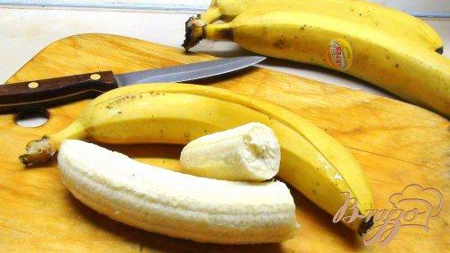 Курица с карри и бананом в банане! Быстрее чем за 10 минут :)