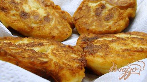 Картофельно-творожные пончики.