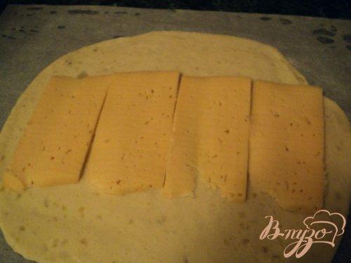 Рулет из картофельного теста
