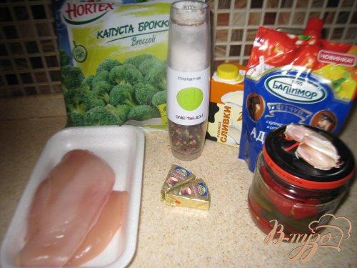Куриные грудки, фаршированные брокколи и сыром