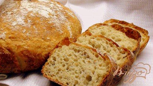 Хлеб, как из русской печки, на пшённой каше.