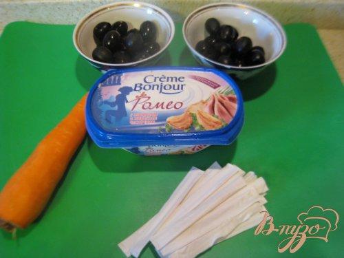 """Закуска из маслин """"Пингвинчики"""""""