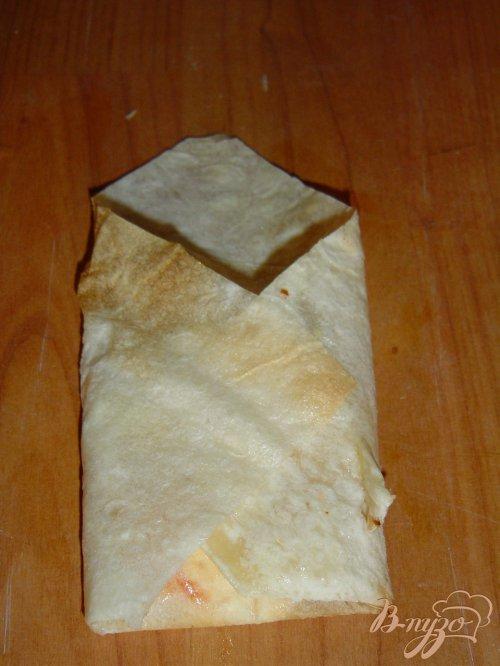 Конвертики из лаваша с тыквенно-творожной начинкой