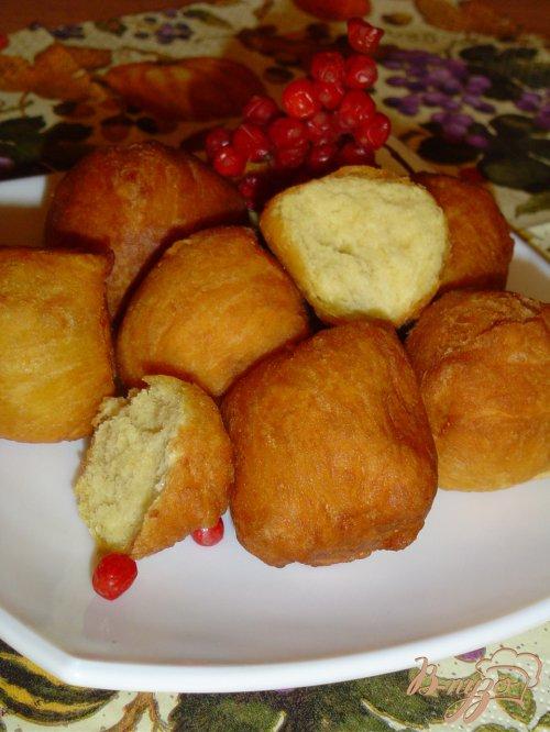 Тыквенно-творожные пончики
