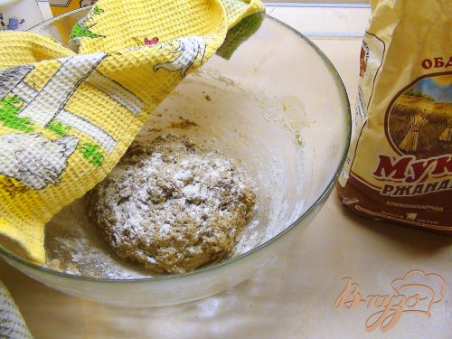 """Хлеб с сухим квасом, псевдо """"Старорусский"""". Простой, но невероятно вкусный."""