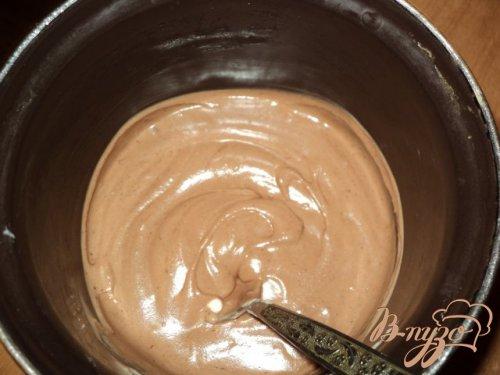 Малиново-шоколадный семифредо.