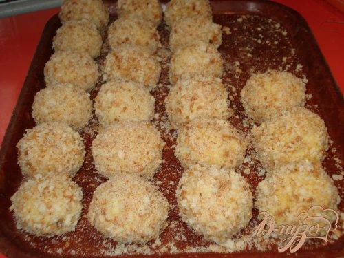 Пшенные крокеты с грибами