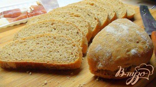 Тосканский хлеб из цельнозерновой муки. Хлеб на закваске.