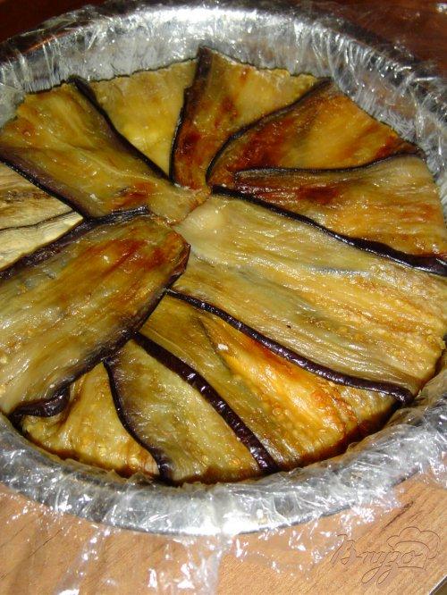 Террин из запеченных перцев, баклажанов и брынзы
