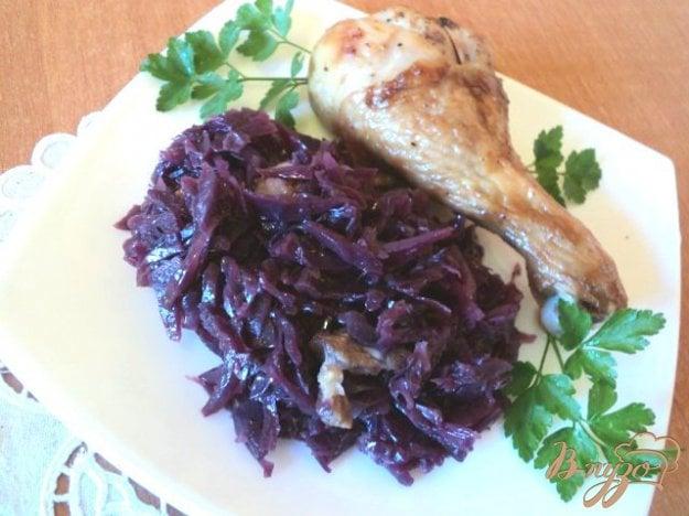 Рецепт Covolo rosso – Капуста краснокачанная со шпиком в вине.