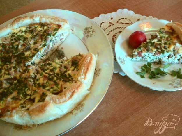 Рецепт Пирог с начинкой из фазана по-охотничьи.
