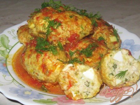 Рецепт Котлеты по-тунисски