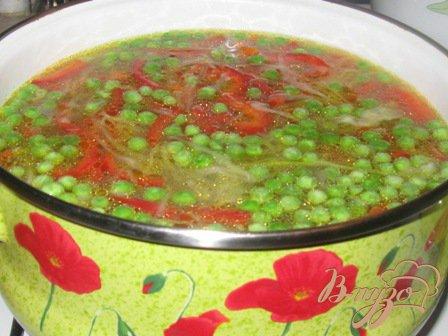 """Овощной суп """"Веселенький"""""""