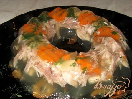 Рецепт Заливное из индейки