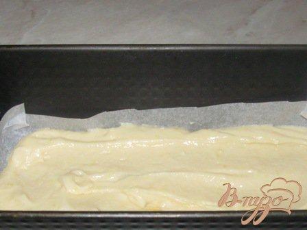 Кекс лимонный с маком