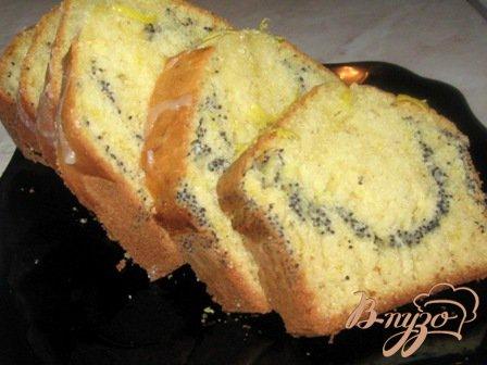 Рецепт Кекс лимонный с маком